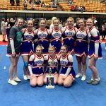 Competition Cheer Has Strong Finish to Season at State Meet