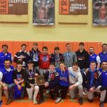 Knights Wrestlers Earn District Runner-up