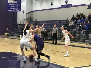 Girls Basketball vs Wayzata 12/5/17