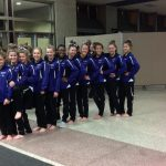 Girls Varsity Gymnastics finishes 2nd place at Meet @ Buffalo High School
