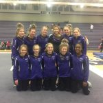 Girls Varsity Gymnastics finishes 3rd place at Invitational @ Buffalo High School