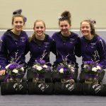 Girls Varsity Gymnastics finishes 1st place at Meet @ Buffalo High School