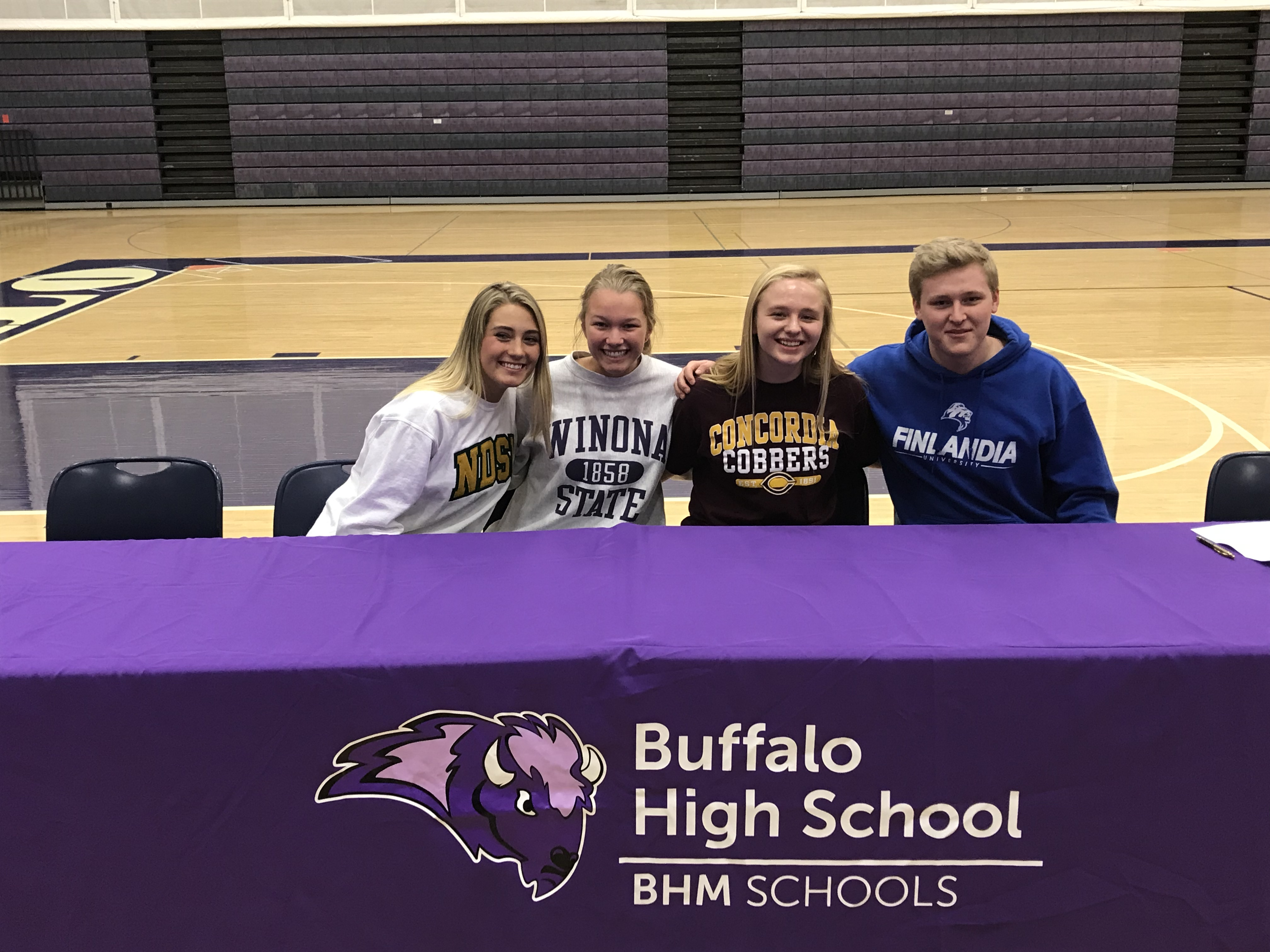 Student Athlete Spring Signing Day