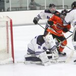 Bison Hockey Improves to 2-2-1 with Victory Over Delano