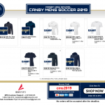 Men's Soccer Shop Open until 9/9
