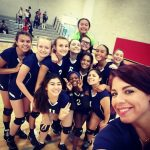 Girls Varsity Volleyball beats IICSN 1 – 3