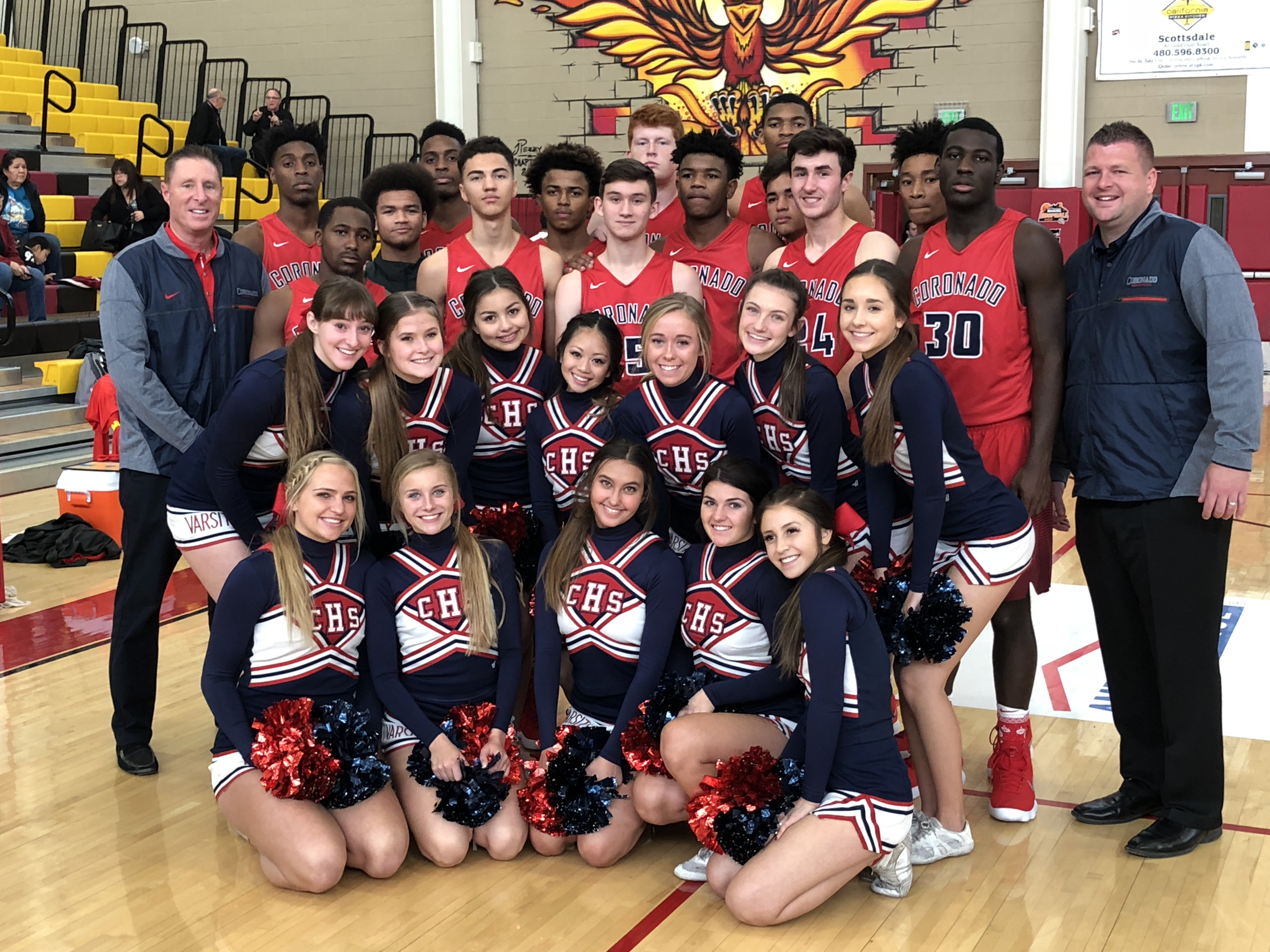 Cougars get win at Hoophall
