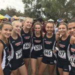 Girls Varsity Cross Country finishes 10th place at Central Park Invite @ Huntington Beach, CA