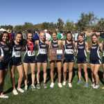 Girls Varsity Cross Country finishes 1st place at Region  Championships @ Veteran's Memorial Park