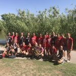 Girls Varsity Cross Country finishes 1st place at Red Rock Running Invite @ Floyd Lamb Park