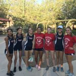 Girls Junior Varsity Cross Country finishes 1st place at Cross Country Silverado/SECTA/Coral Academy/Sloan Canyon/Coronado @ Sonata Park