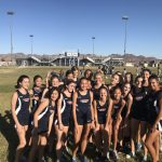 Girls Varsity Cross Country finishes 1st place at Foothill/BC/Laughlin/CHS  @ Foothill