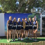 Girls Varsity Cross Country finishes 1st place at Central Park Invitational @ Huntington Beach. CA
