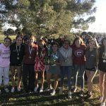 Girls Varsity Cross Country finishes 1st place at O'Dea FroshSoph Meet @ Desert Breeze Park