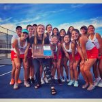 Women's Tennis 2019 Region Champions!