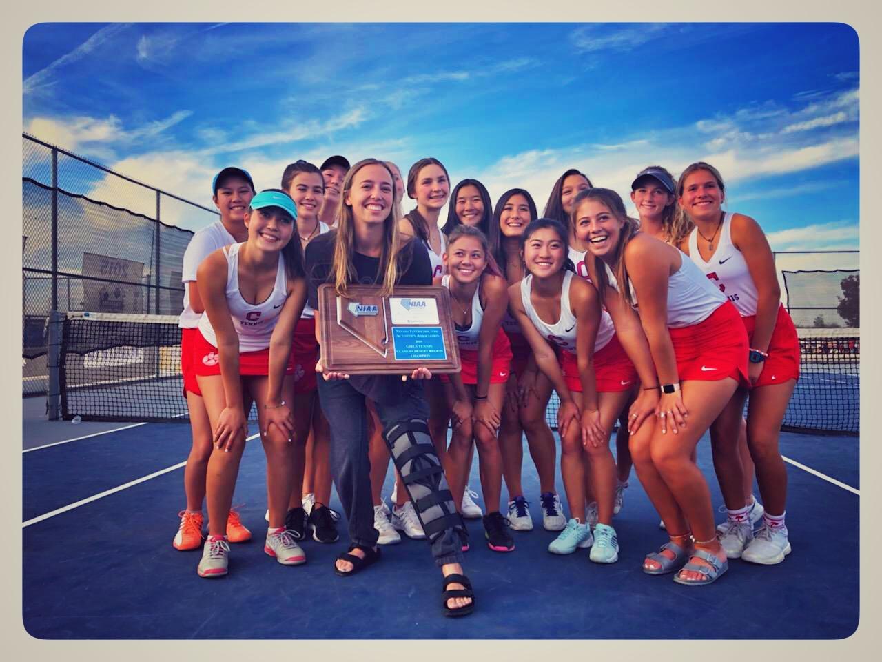 Women's Tennis 2019 Region Champions!
