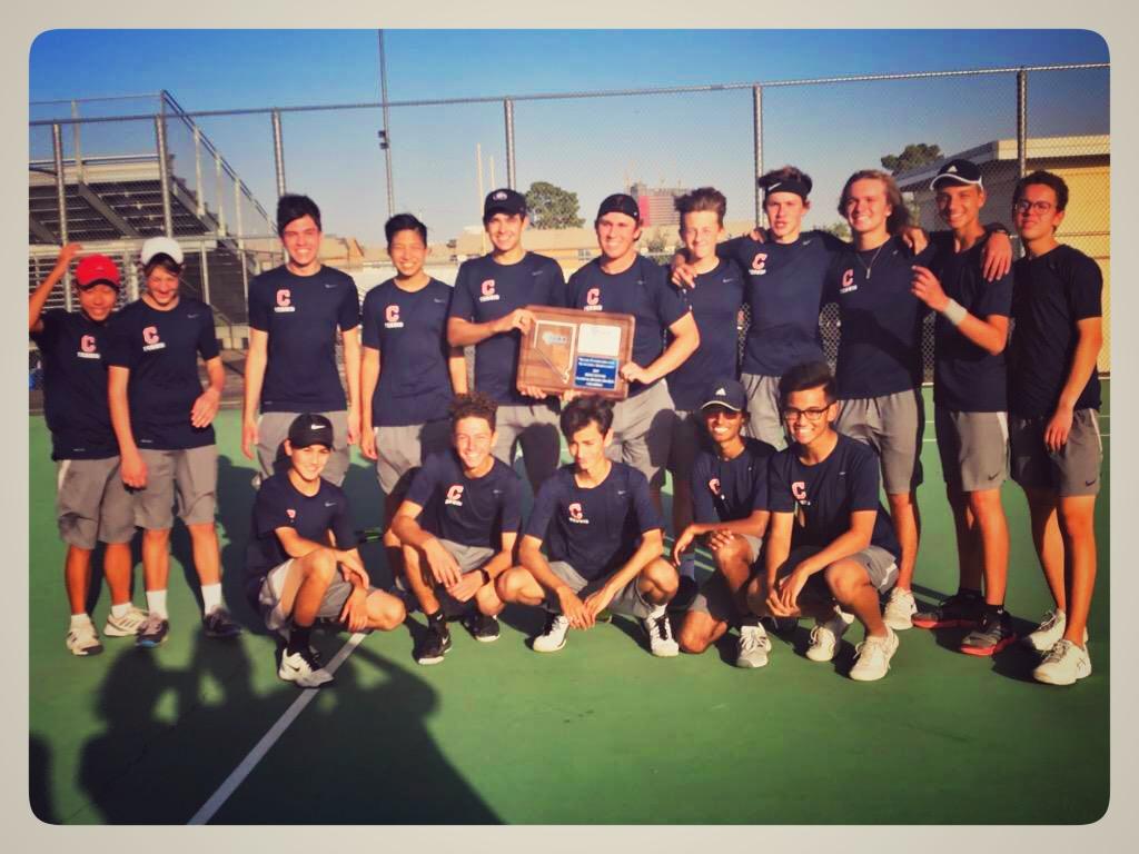 Men's Tennis 2019 Region Champs!