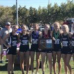 Girls Varsity Cross Country finishes 1st place at Regionals