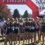 Girls Varsity Cross Country finishes 1st place at State