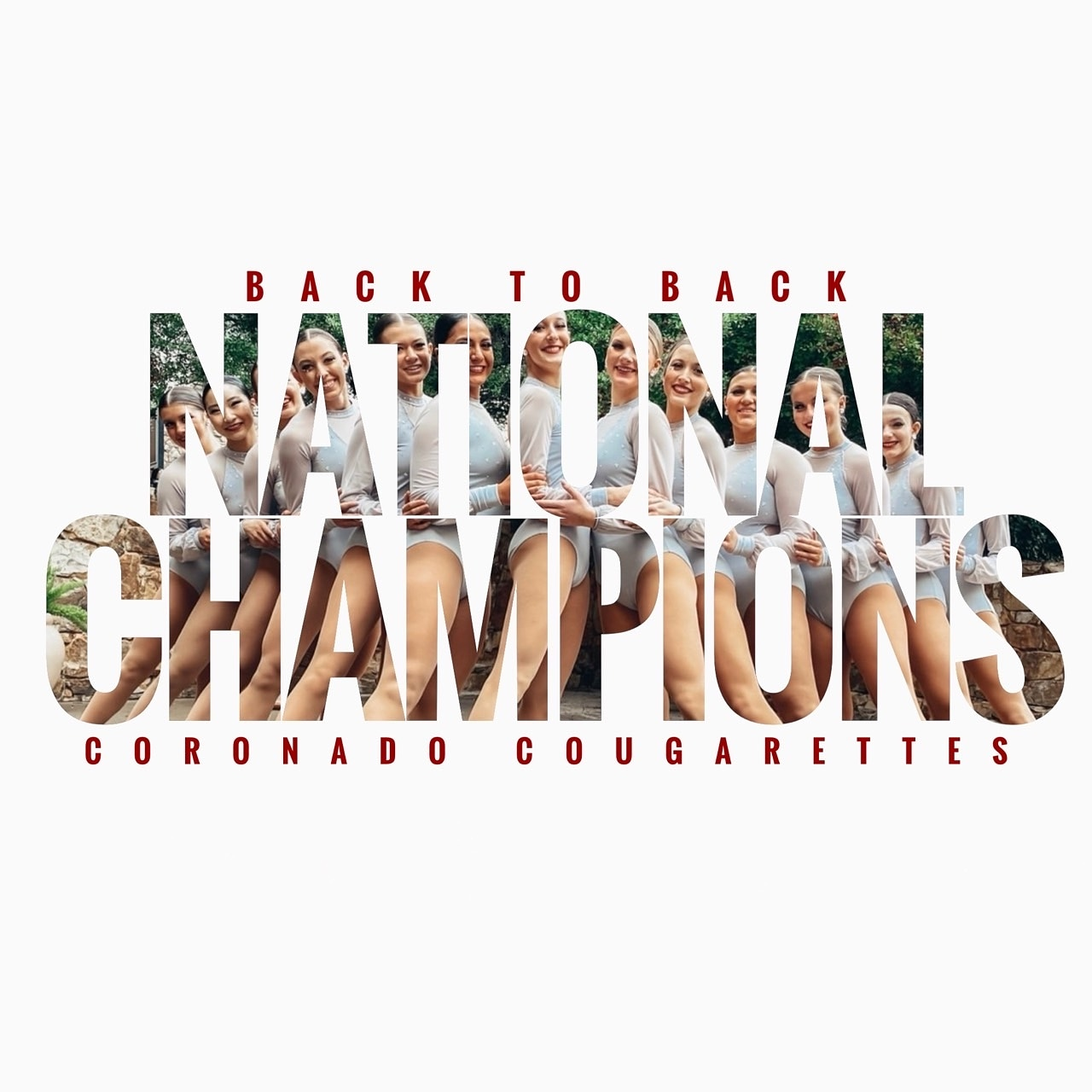 Cougarettes Back to Back National Champions!