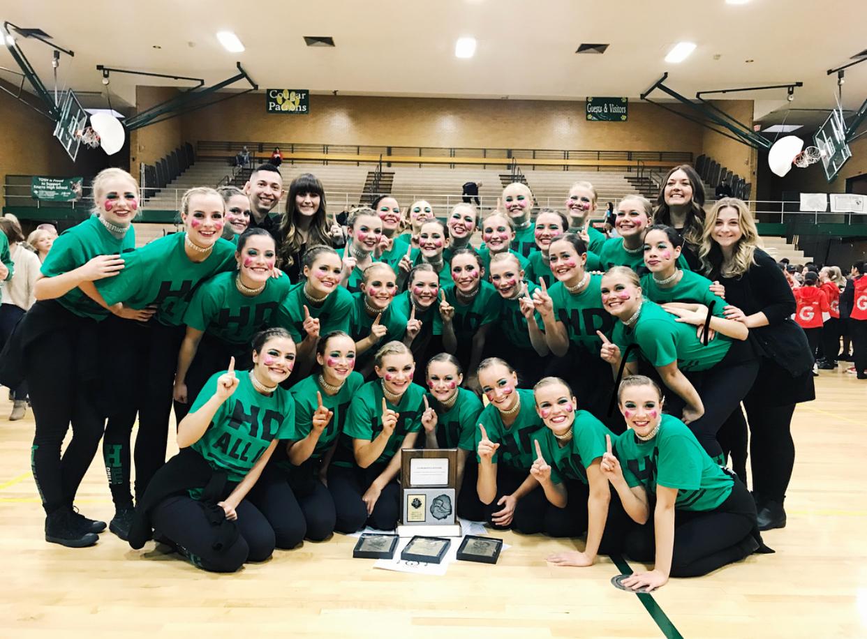 Hillcrest Drill Team wins Region Title
