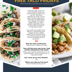 FREE Taco Friday's at Hillcrest!