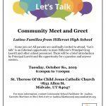 Community Meet & Greet @ Hillcrest