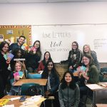 Key Club writes Love Letters for Literacy