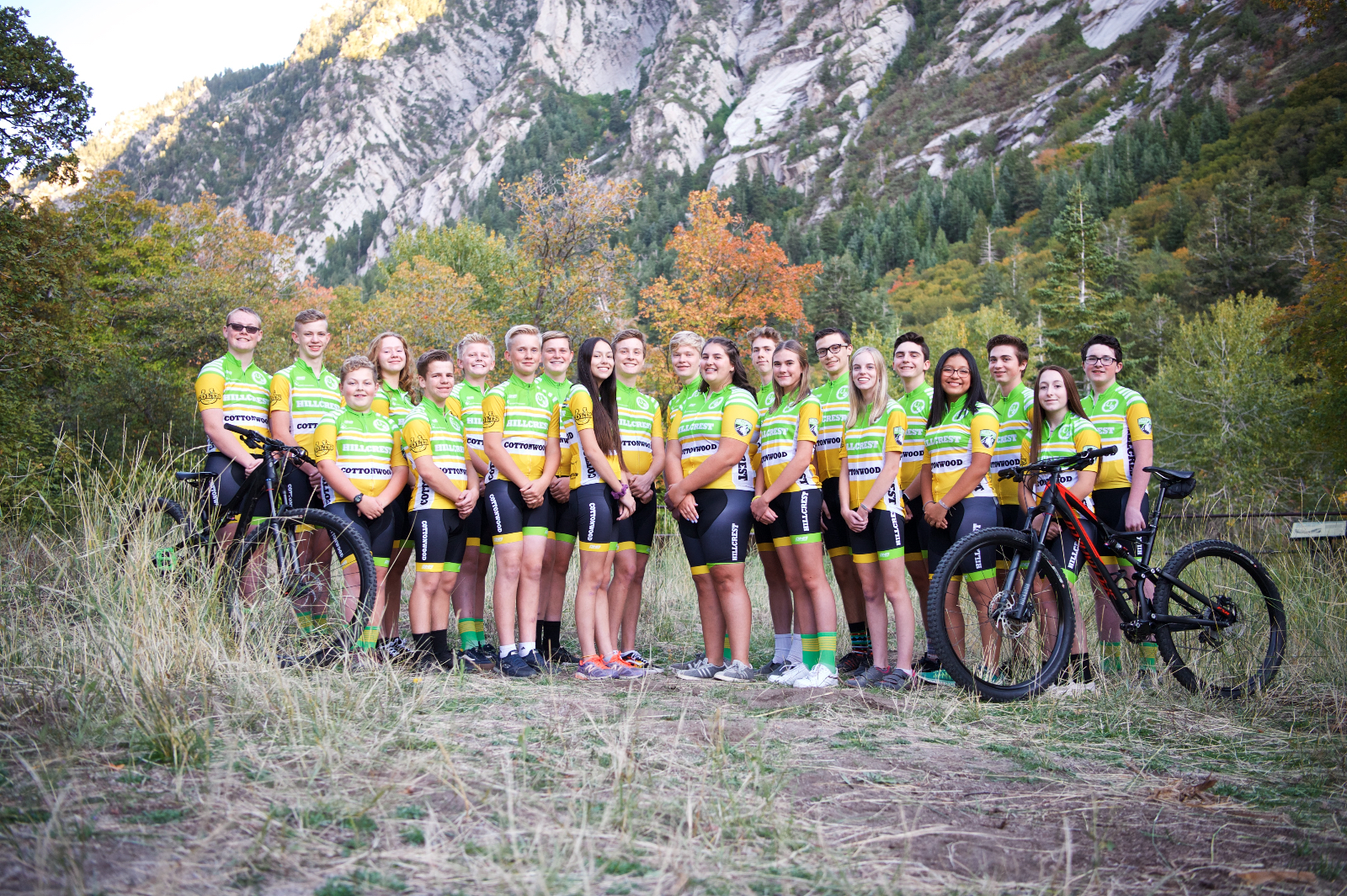 """Our Mountain Biking Team """"CottonCrest"""" making a huge Impact!"""
