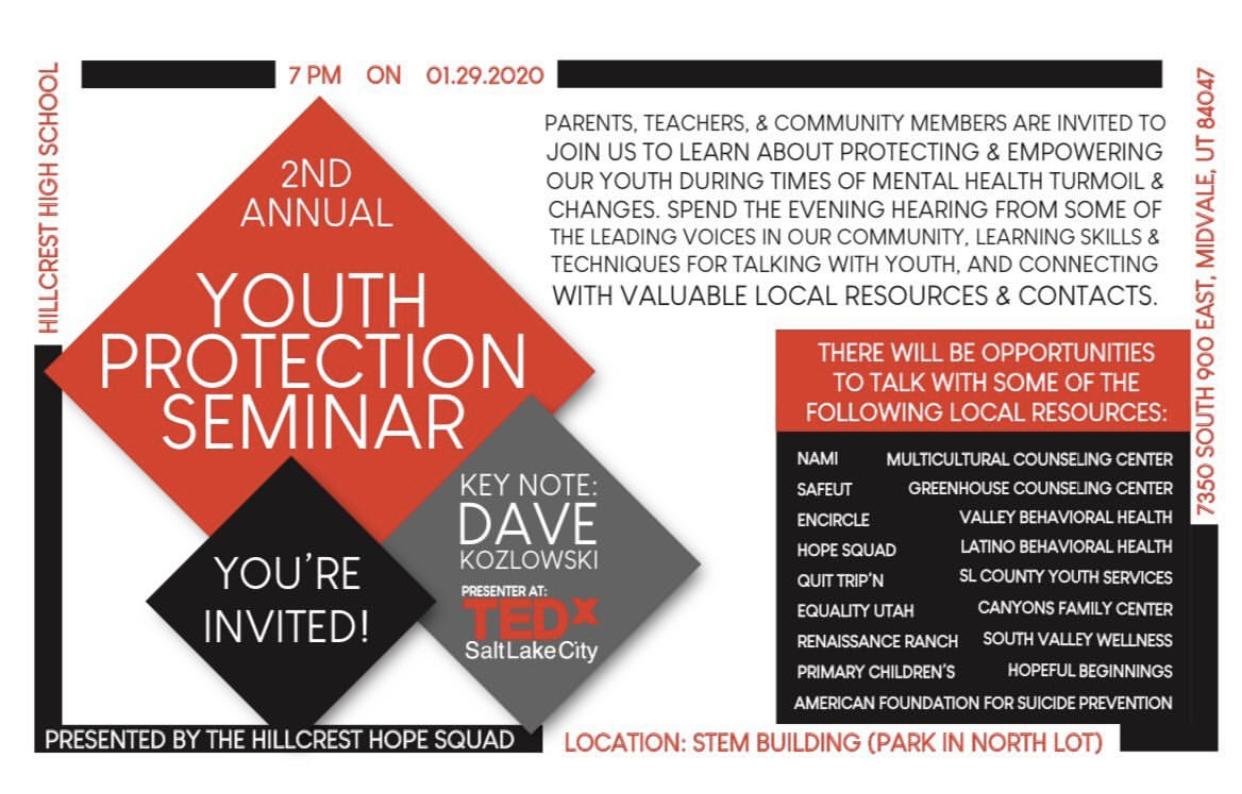 Un seminario de Protección de Los Jóvenes