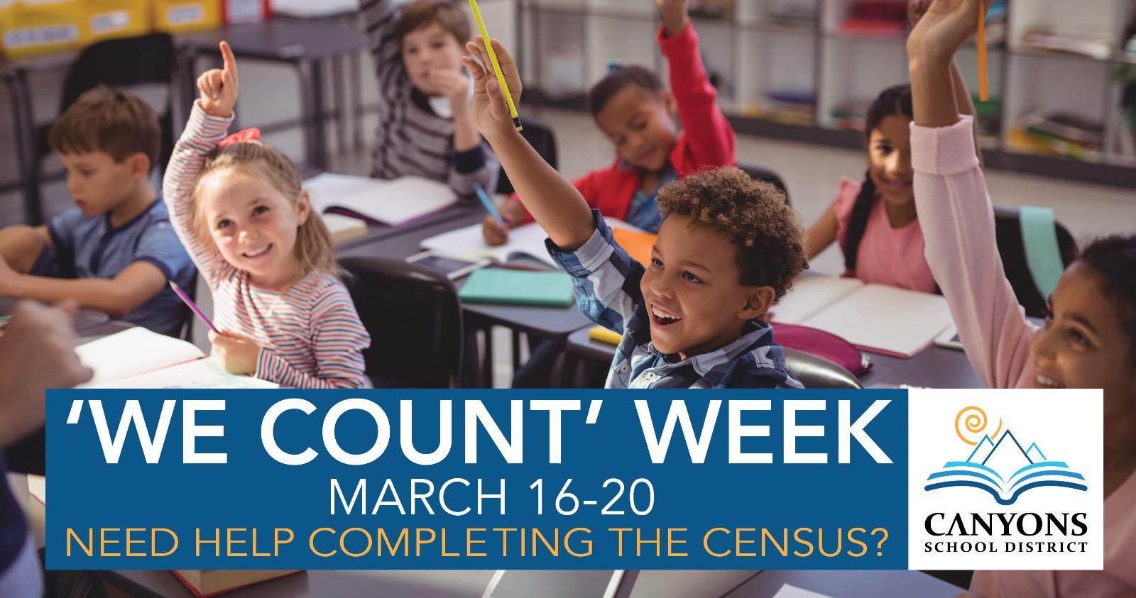 'We Count' Week Census Survey