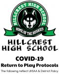 Hillcrest High School COVID-19 Return to Play Protocols