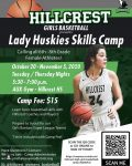 Lady Huskies Skills Camp