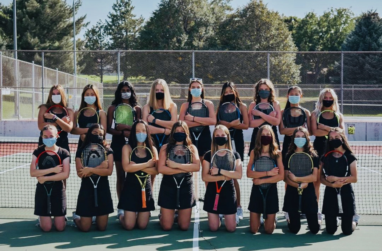 Good Luck to our HHS Girls Tennis @ Region Today!