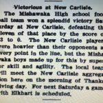 Historical Matchup with Mishawaka Football at New Prairie