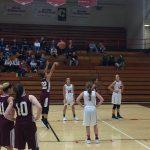 Girls Varsity Basketball falls to NorthWood 48 – 39