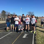 Boys Varsity Track finishes 2nd place at (Clay, Penn, Mishawaka Triangular)