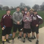 Boys Varsity Track finishes 1st place at (Bremen, St. Joseph, Mishawaka)