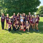 Girls Varsity Cross Country finishes 1st place at Early Bird Invite