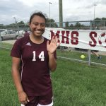 Rachel Gomez Scores 5 Goals in Cavemen Victory (Video Story)