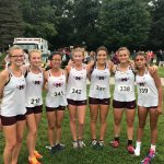 Girls Varsity Cross Country finishes 2nd place at Northridge County Clash