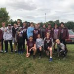 Boys Varsity Cross Country finishes 13th place at New Haven Classic