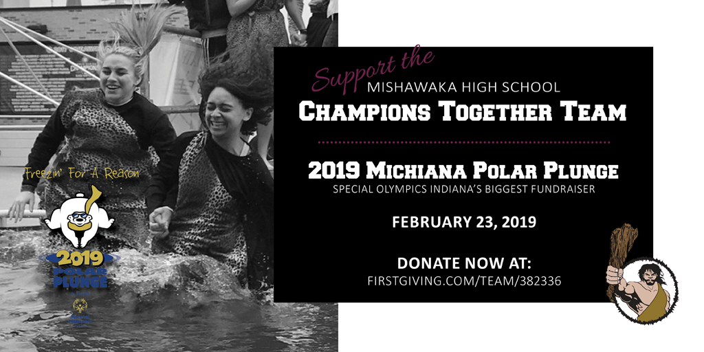 Support Mishawaka's Champions Together at the Polar Plunge!