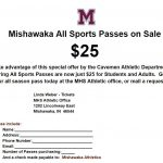 Mishawaka All-Sports Passes Reduced for Spring of 2019