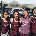 Girls Track Compete in 5 events at Indoor State Finals