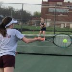 Girls Varsity Tennis beats South Bend Riley 4 – 1
