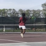 Girls Varsity Tennis falls to Jimtown and Riley 3 – 2