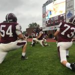 Mishawaka Football Takes Care of Business vs Gary West  (Highlights and Interview with Coach Kinder)