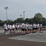 Boys Varsity Tennis falls to Elkhart Central 3 – 2