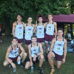 Boys Cross Country strong 3rd place County Clash